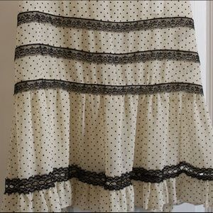 Monteau Tops - Sheer Blouse with Lace Details (4 for $15)